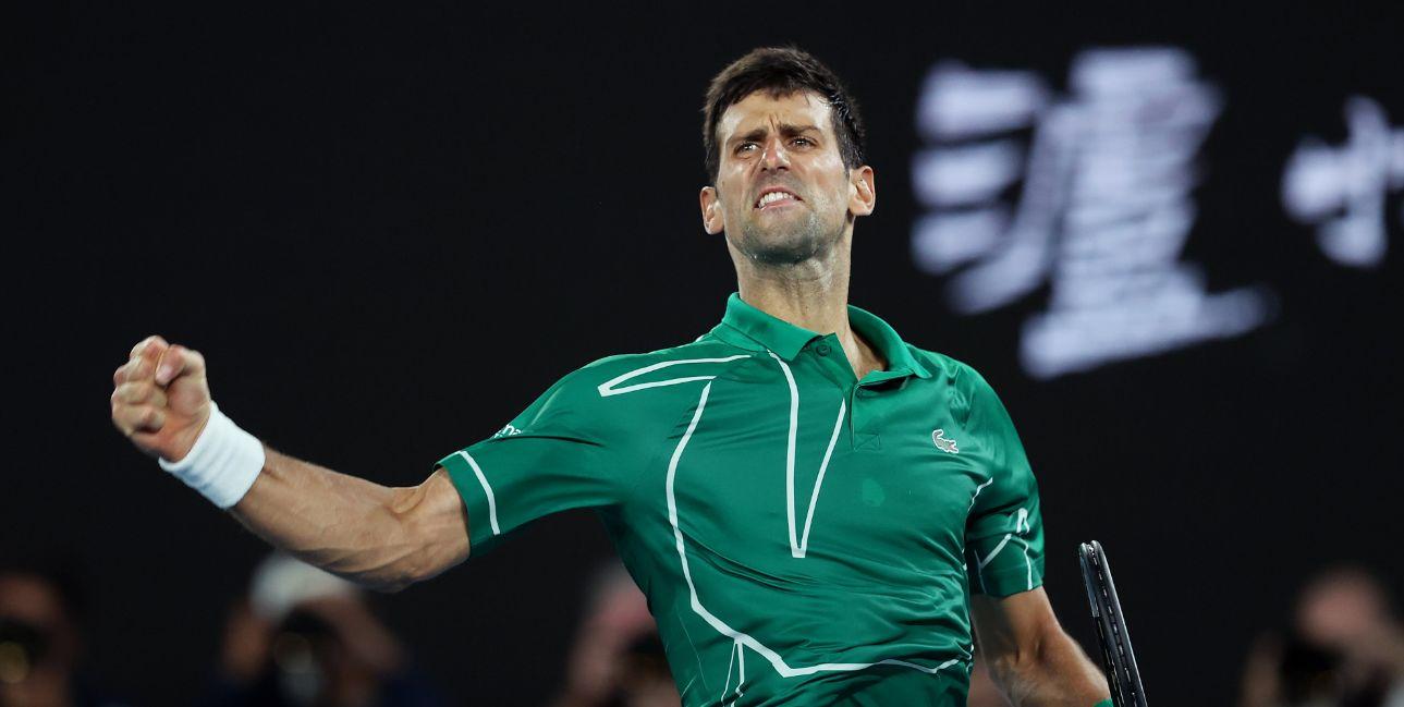 Novak superiorno protiv Federera za finale Australijan opena