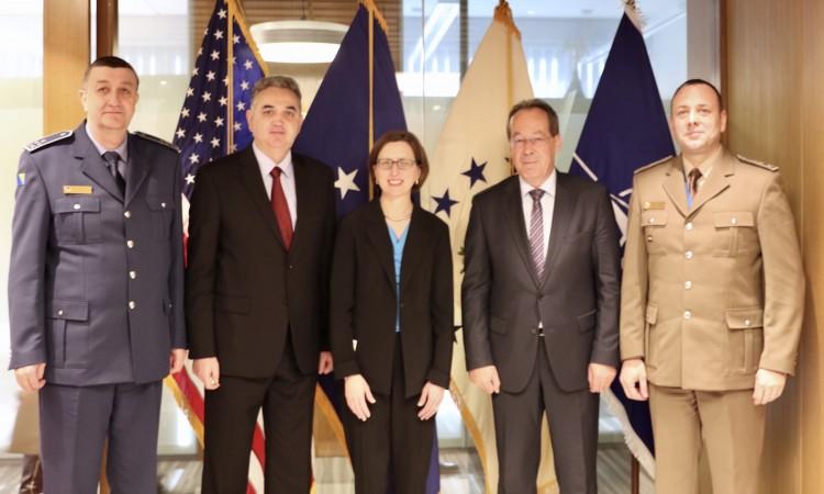 Delegacija Ministarstva odbrane BiH u sjedištu NATO-a