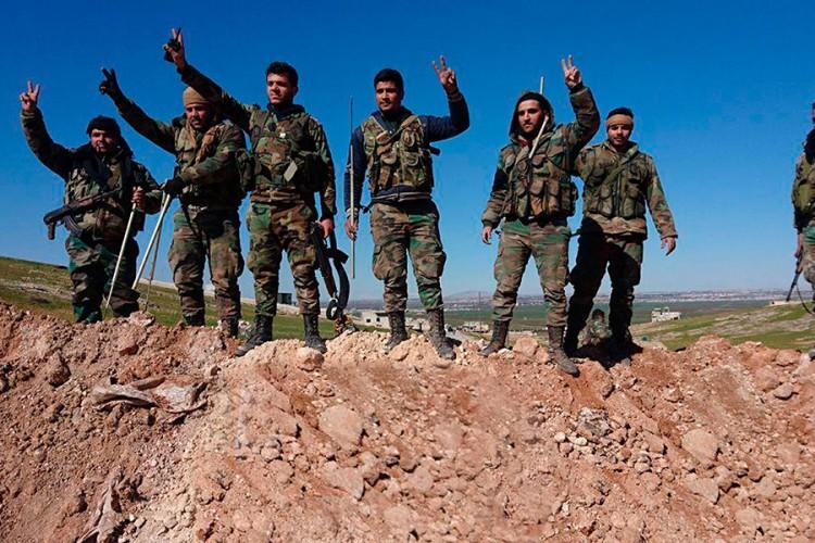 Sirijska vojska u ofanzivi, istočni Idlib pred oslobođenjem
