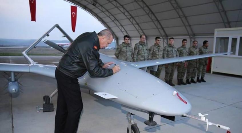 Oboren turski dron