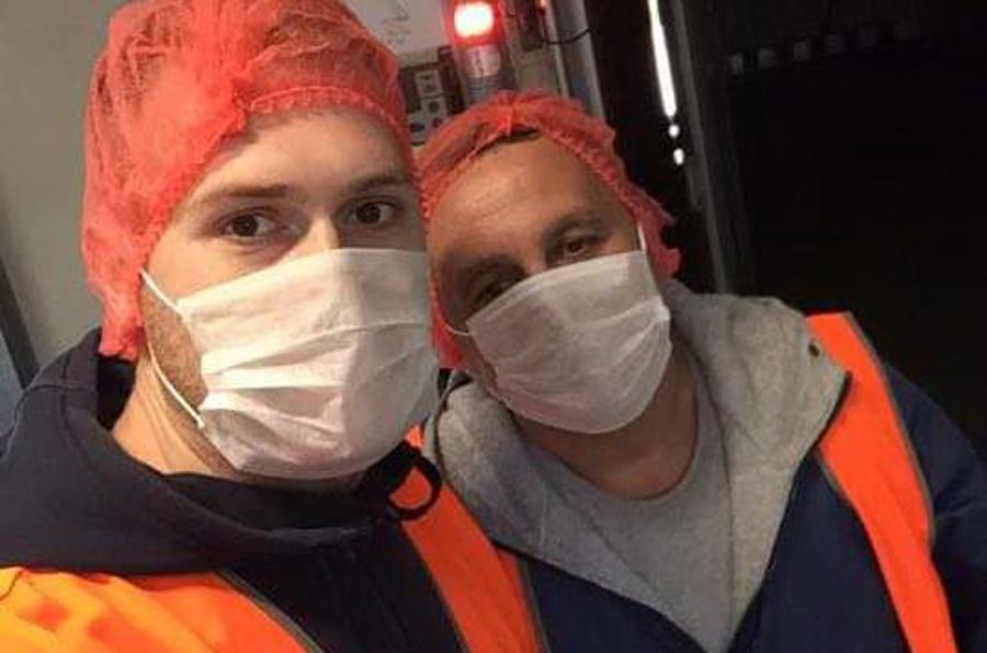 Posao ih odveo uItaliju: Otac i sin iz Zvornika na smjenu voze kamion kroz ugrožena područja