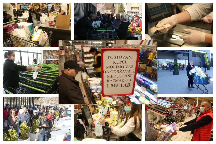 SRPSKA NEMA ROBNE REZERVE U Ministarstvu trgovine tvrde da imaju rješenje za vanredne situacije