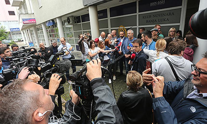 Novinari Srpske traže jednak pristup informacijama svih medija