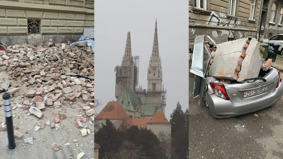 Stručnjak objasnio zvuk koji se čuo uz potres u Zagrebu