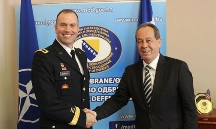 Podžić – Edvards: Dobra saradnja Ministarstva odbrane BiH i NATO