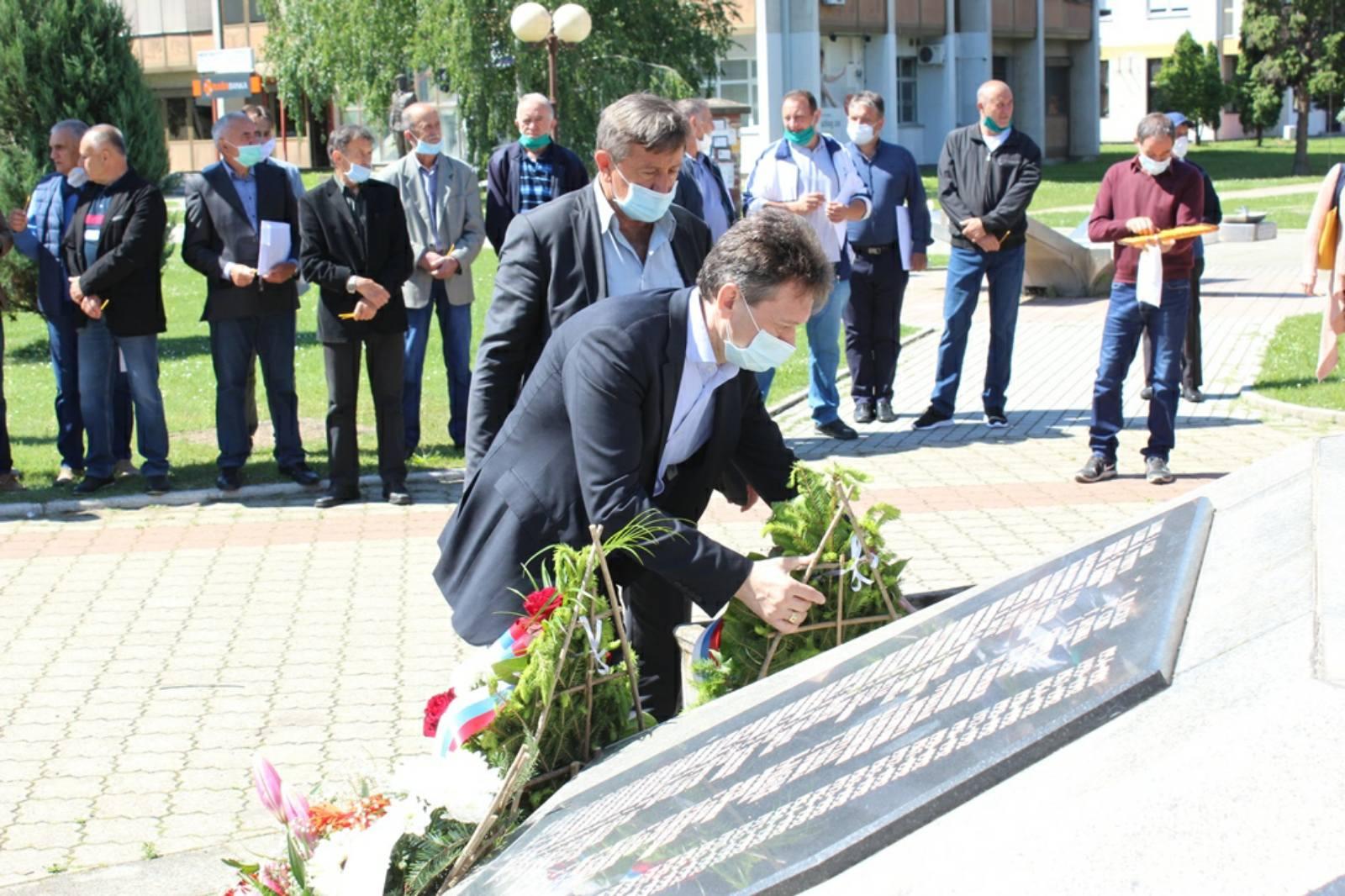 Obilježeno 28. godina od osnivanja prve Majevičke brigade VRS
