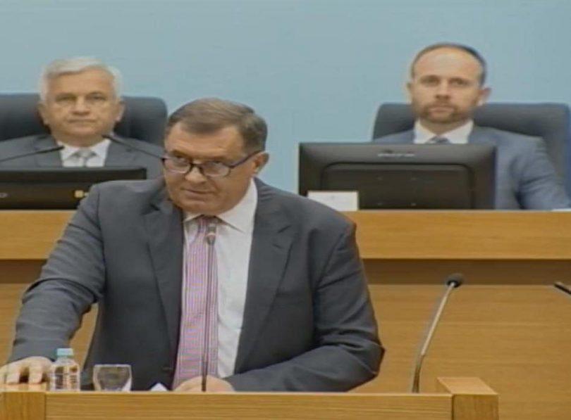 Sramno obraćanje Milorada Dodika na Narodnoj skupštini Republike Srpske (Video)