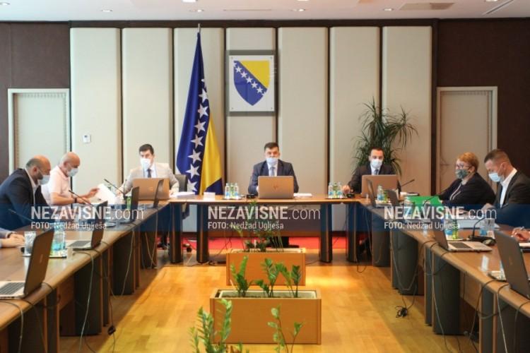 Savjet ministara usvojio odluku o privremenom finansiranju institucija