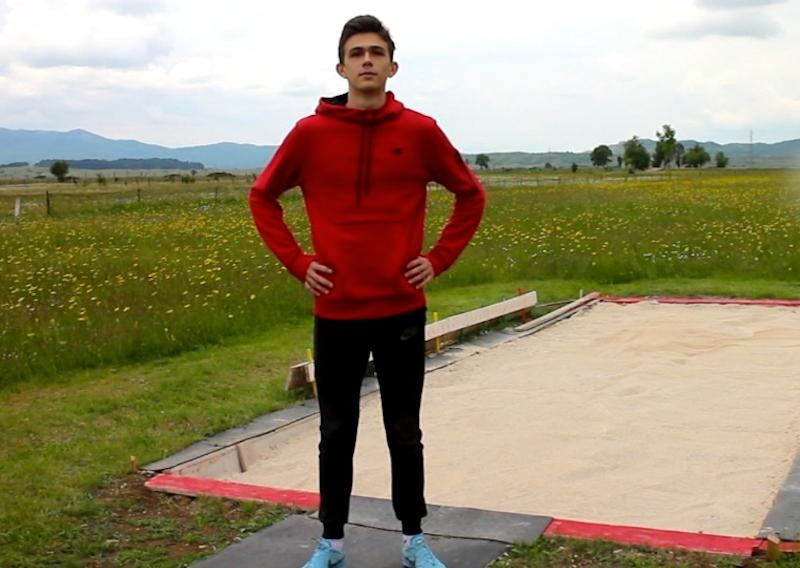 Mladi atletičar Igor Zelenović – još koji skok da od nade postane šampion (VIDEO)