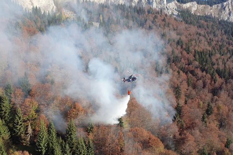 Konačno ugašen požar kod Trebinja