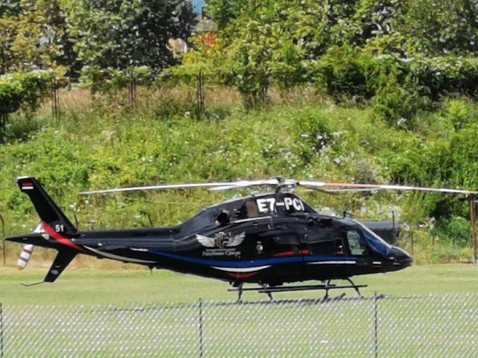Helikopterski servis RS ponovo u službi SNSD-a (FOTO/VIDEO)