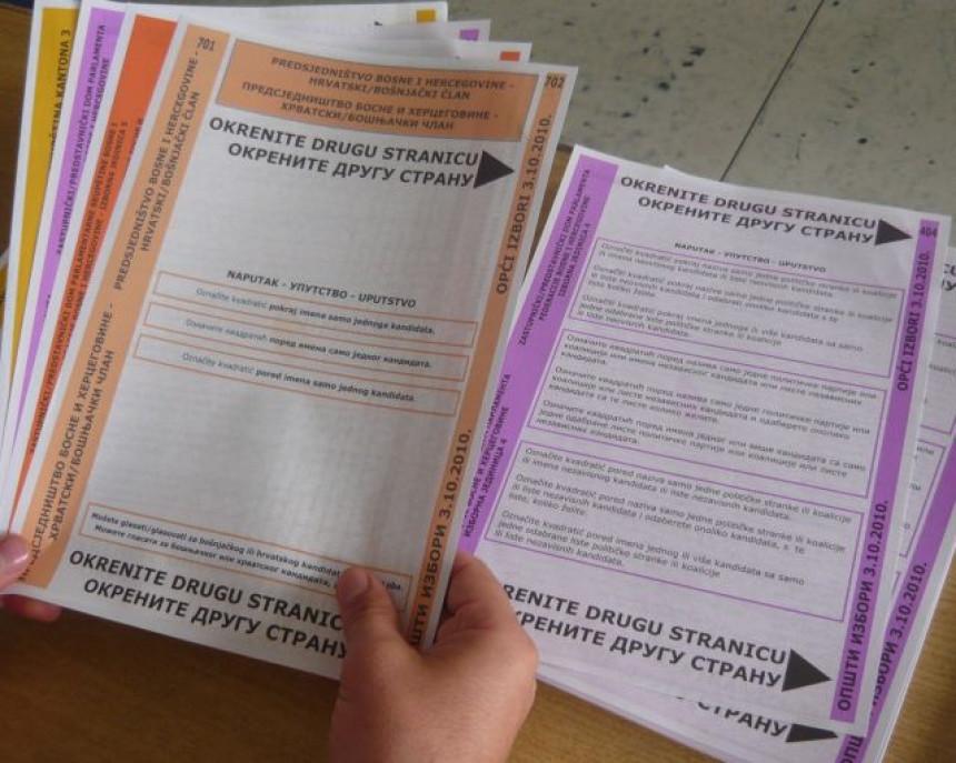 Evo koja firma će štampati listiće za lokalne izbore