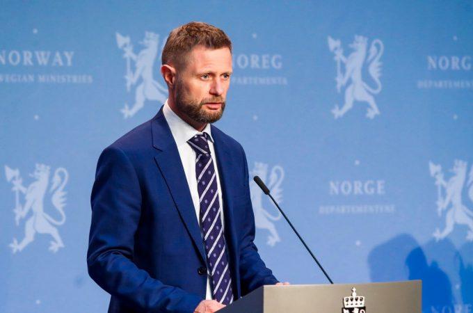 Norveški ministar zdravlja Bent Hoie početkom maja održao je govor koji su prenijeli svi mediji svijeta.
