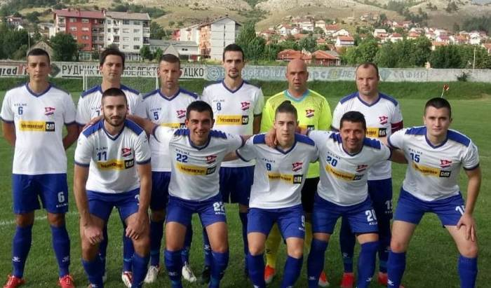 """Šesto kolo: FK """"Mladost"""" Gacko – FK """"Vlasenica"""" Vlasenica 2:2"""