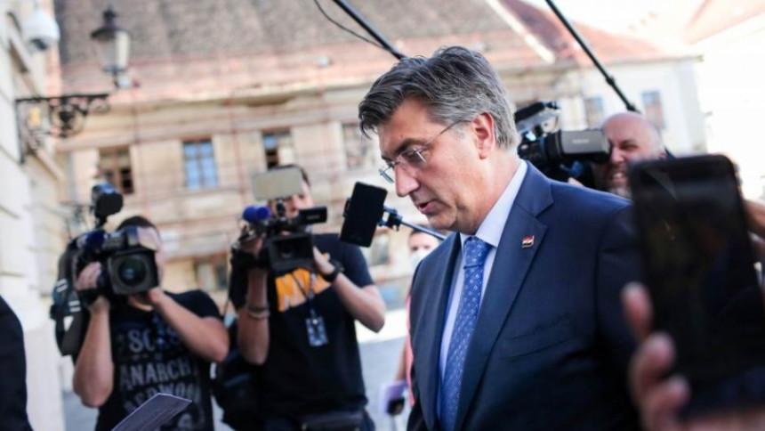 Plenković: Dodik je dugo tražio da dođe u Zagreb