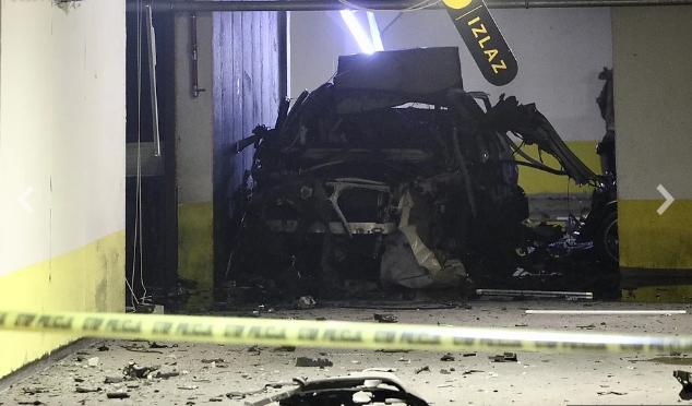 Eksplozija u sarajevskom naselju Nova Otoka, velika materijalna šteta na vozilima