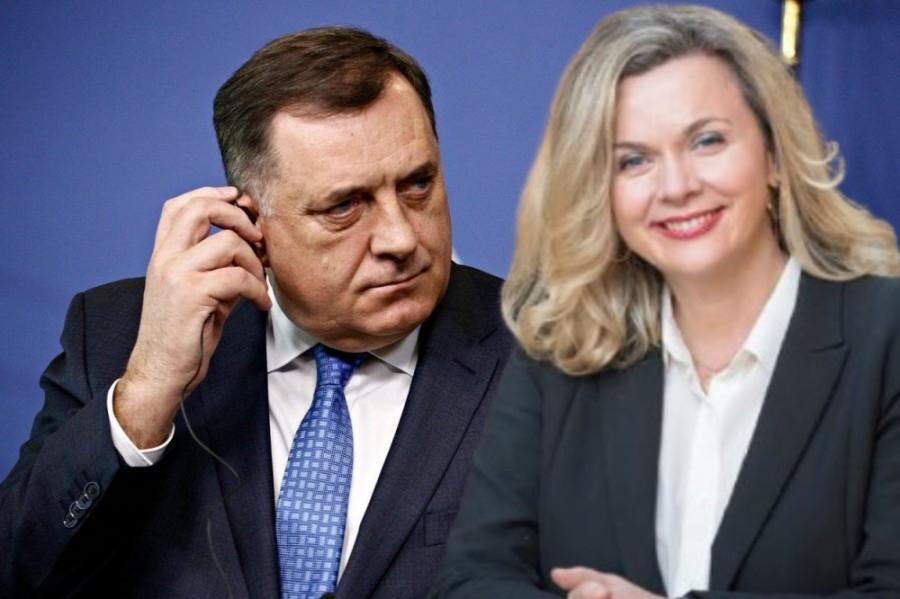 """Željana Zovko hvali Dodika: """"Nikada nije iznevjerio Hrvate niti je ratovao protiv njih…"""""""