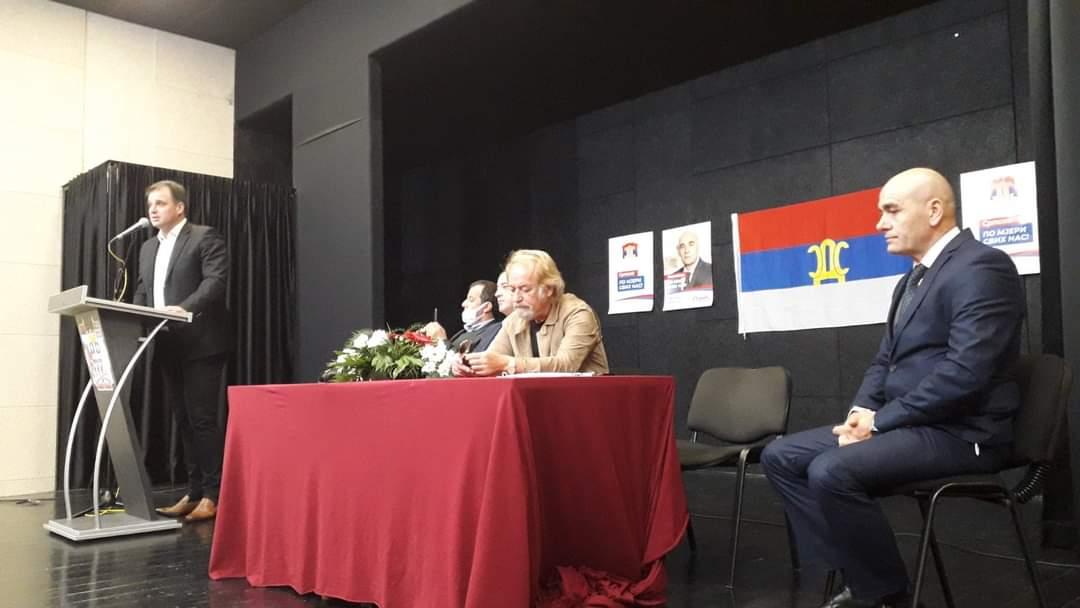 Drašković u Nevesinju: Narod koji glasa za kriminalizovanu vlast nije žrtva, nego saučesnik