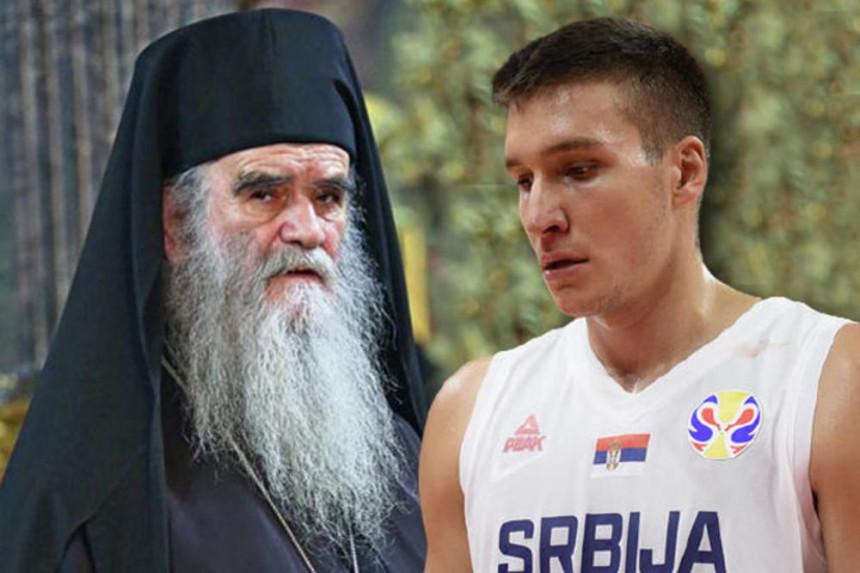 """Bogdanović poslao poruku Amfilohiju: """"Pomozi Bože"""""""