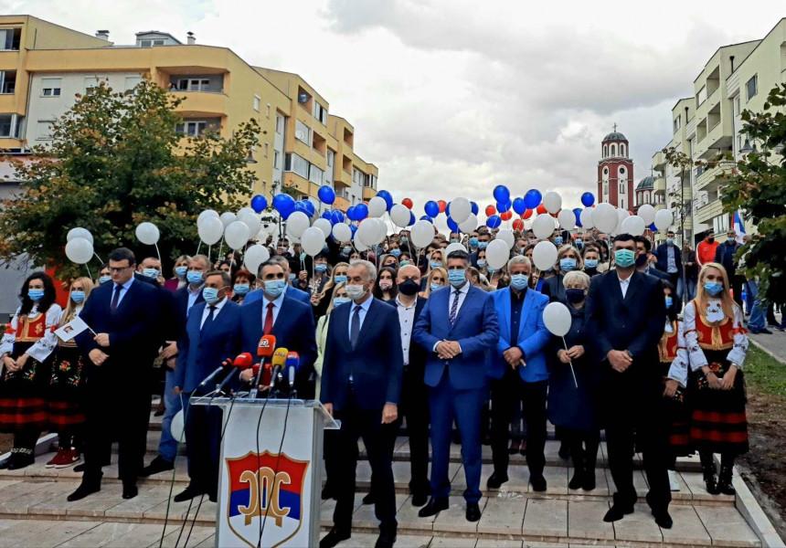 SDS kampanju počeo simbolično u dva važna grada