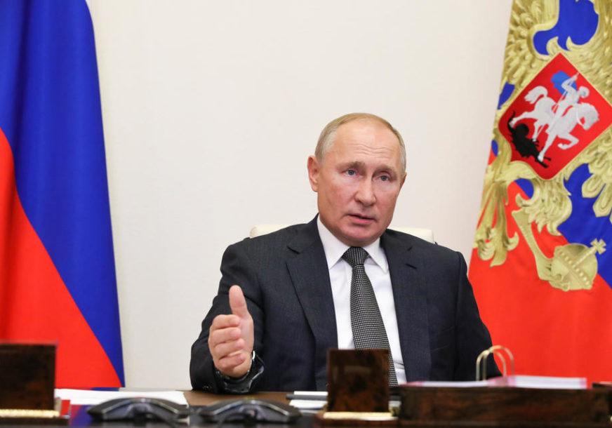 Putin: Žarište terorizma u Siriji je uništeno
