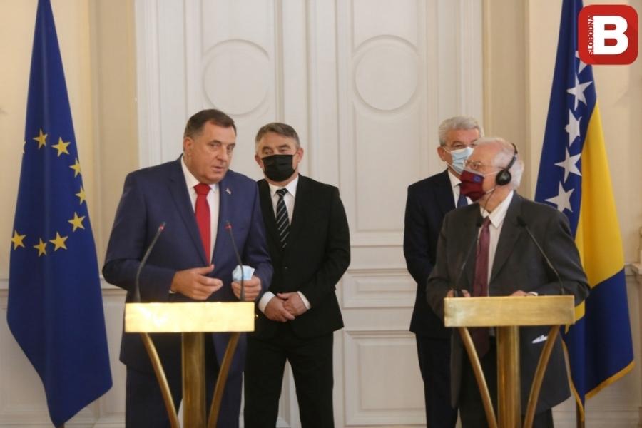 Novi proevropski Dodik: Zamolio Borelija da BiH dobije kandidatski status