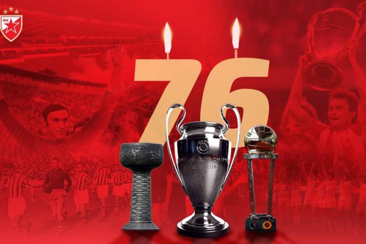 Sportsko društvo Crvena zvezda slavi 76. rođendan