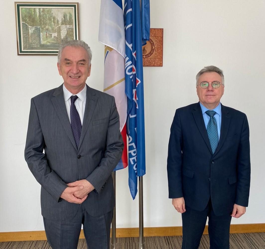 Šarović sa ruskim ambasadorom: Rusko tržište otvorilo prostor za razvoj firmi iz BiH