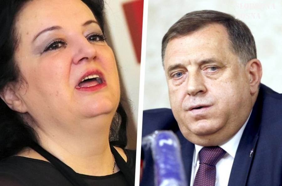 """""""Da se zatera u sto materina…"""": Svetlana Cenić poslala oštru poruku Miloradu Dodiku"""