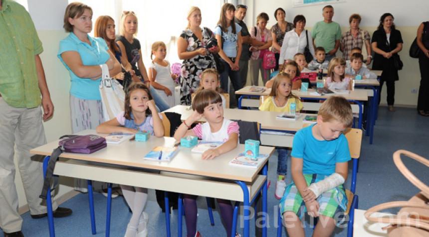 Smanjuje se broj upisanih učenika u prve razrede