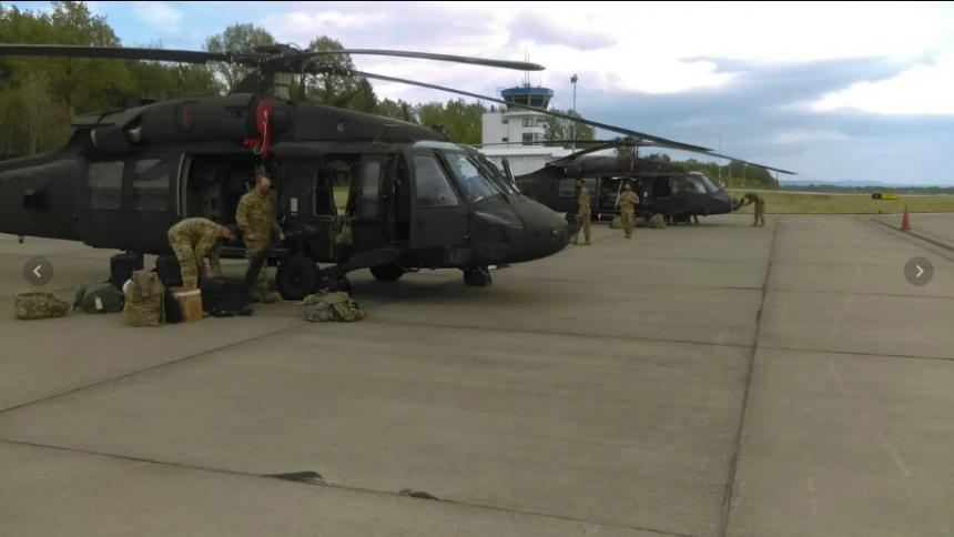 Stigli helikopteri, sprema se vojna vježba na Manjači