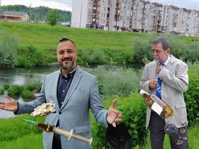 Simić i  Žunić izgradili dvije brane na rijeci Ukrini, da bi krali šljunak, a ne zaštitili Derventu od poplava