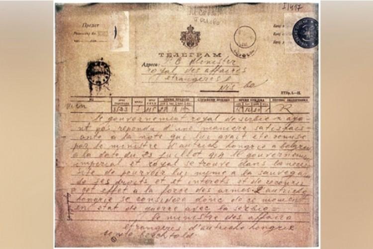 Austrougarska objavila rat Srbiji i najavila svoj nestanak