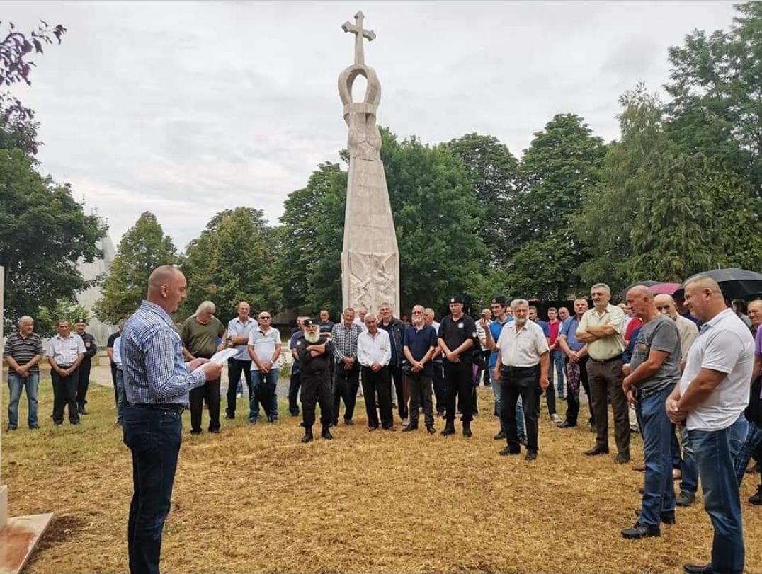 U Ravnogorskom parku u Bileći služen pomen đeneralu Dragoljubu Draži Mihailoviću