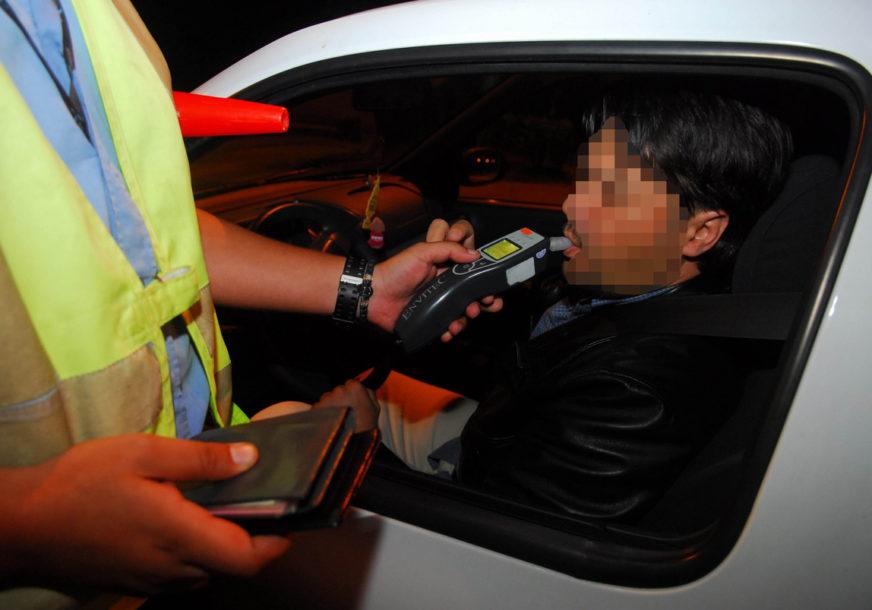 Tokom vikenda pojačana kontrola vozača, sa akcentom na alkoholisanost