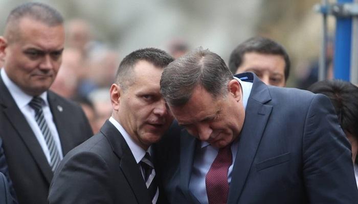 """Lukač patosirao Dodika na Rosuljama uoči hapšenja """"škaljaraca"""""""