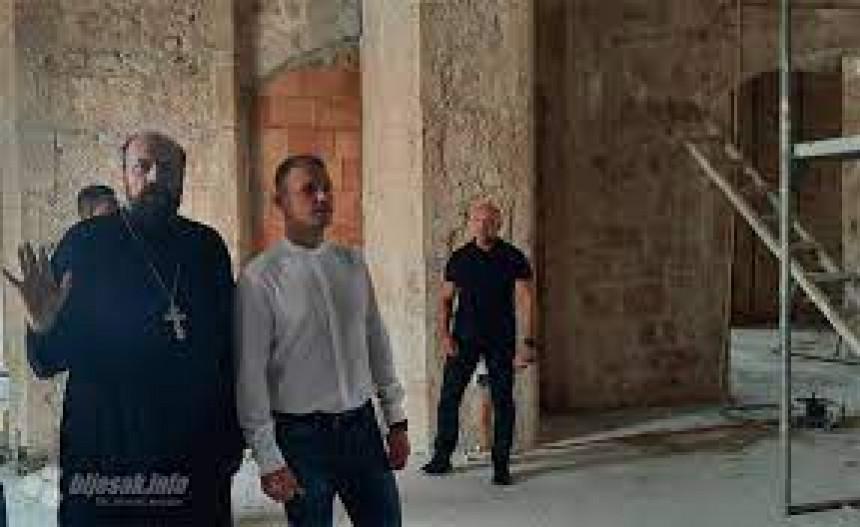 Stanivuković posjetio Sabornu crkvu u Mostaru, boraviće i u Žitomisliću