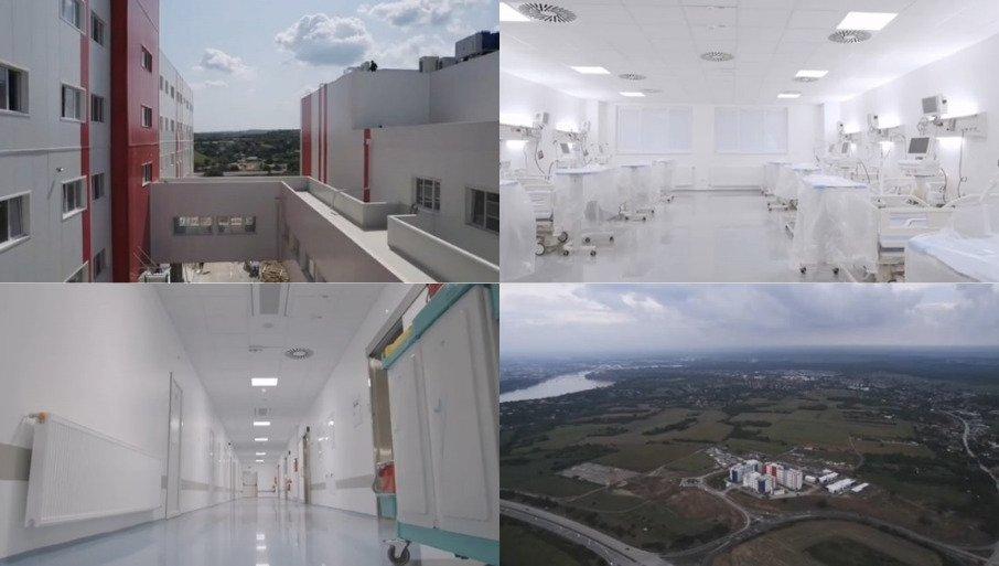 Vučić: Nova bolnica u Novom Sadu izgrađena za samo četiri mjeseca.