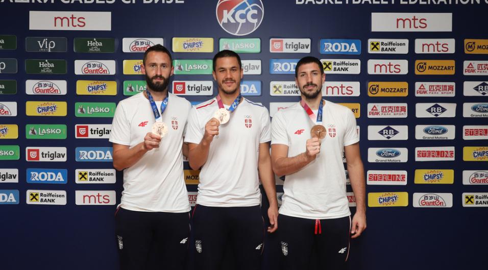 Basketaši Srbije po treći put osvojii zlato
