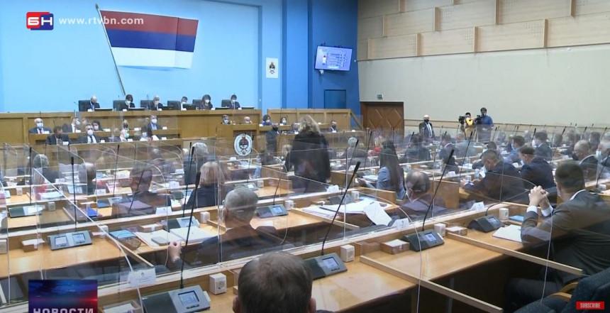 Parlament Srpske po hitnom postupku o rebalansu budžeta