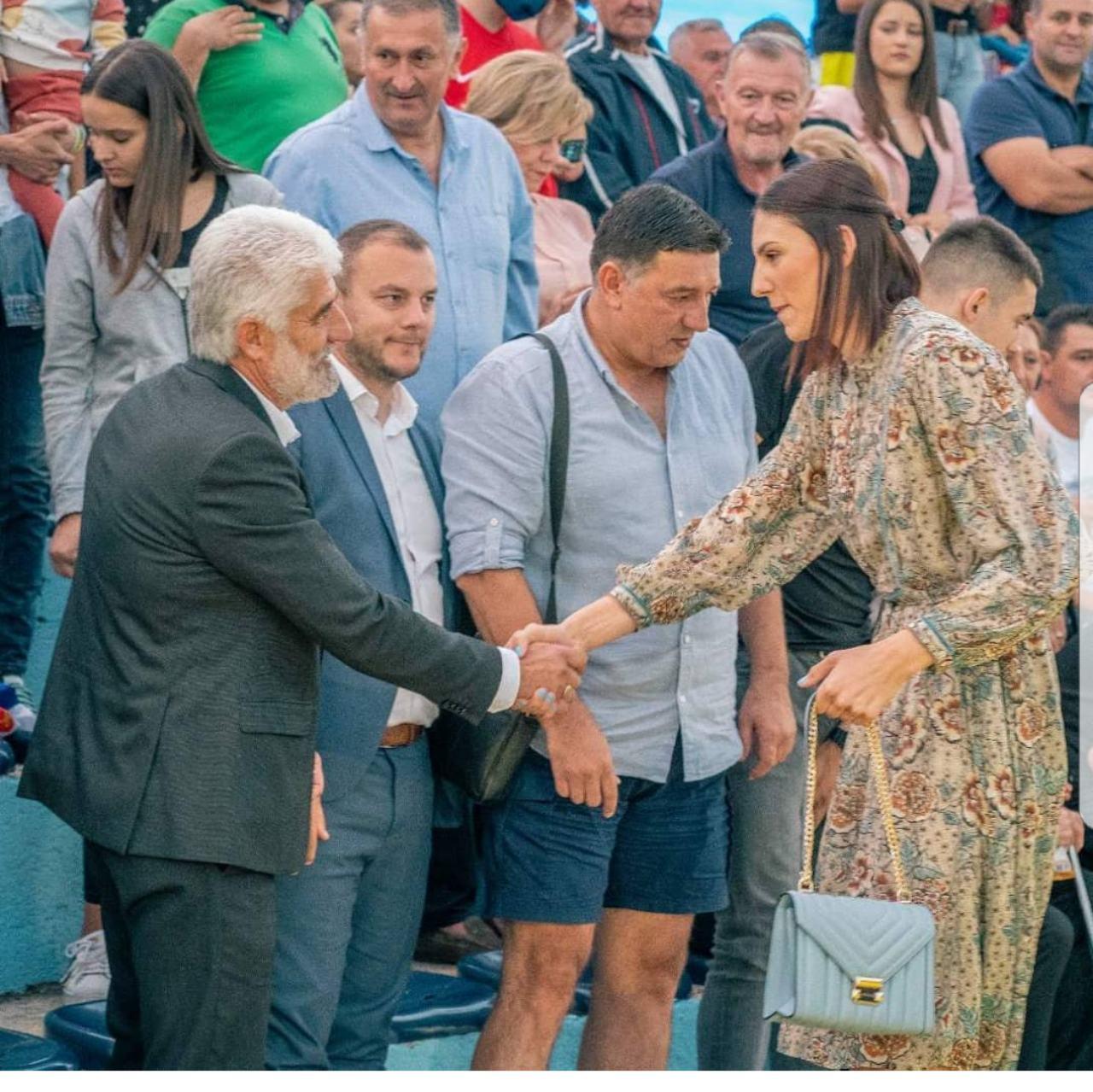 Vujović poželio dobrodošlicu Tijanu Bošković: Tijana je najbolji ambasador Bileće i na tome joj neizmjerno hvala