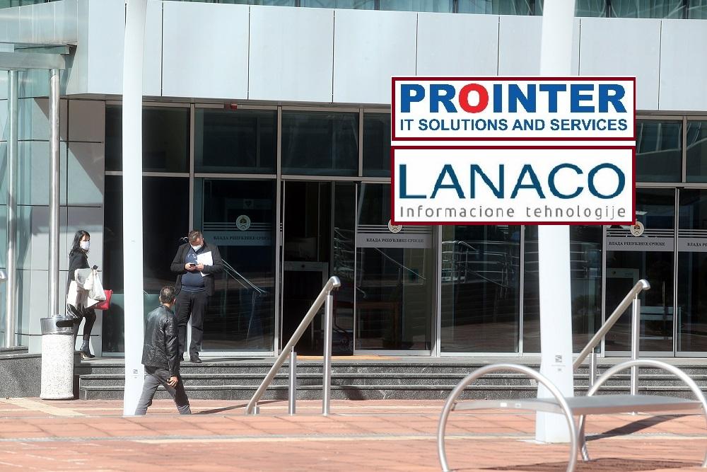 """Podjela plijena: """"Prointeru"""" i """"Lanacu"""" još jedan unosan posao od Vlade RS"""