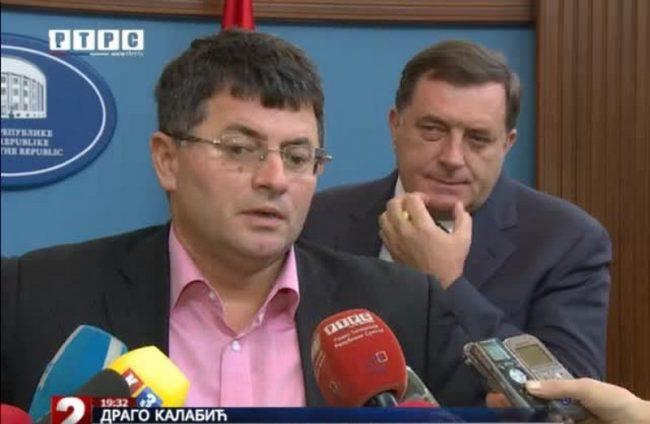 Drago Kalabić poručio Dodiku: Ti si sa bratijom predao VRS bez ijednog metka! Što si više ustupaka pravio, više si napredovao.