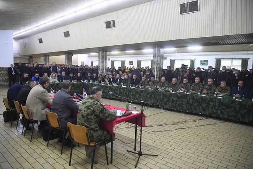 """""""Odbranićemo naš narod na Kosovu i Metohiji. Nema povlačenja!"""""""